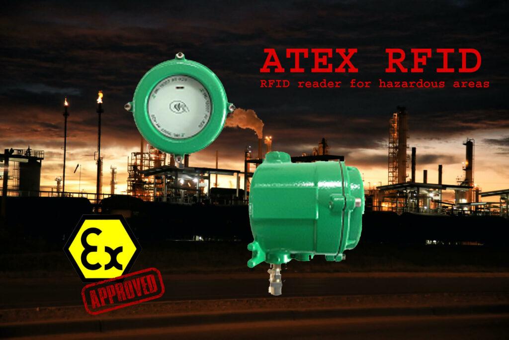 ATEX RFID reader